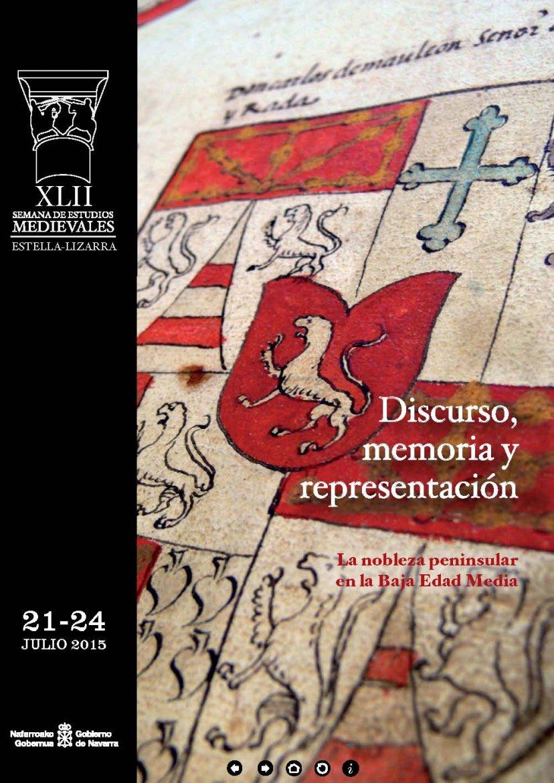 Publicación XLII Semana de Estudios Medievales de Estella