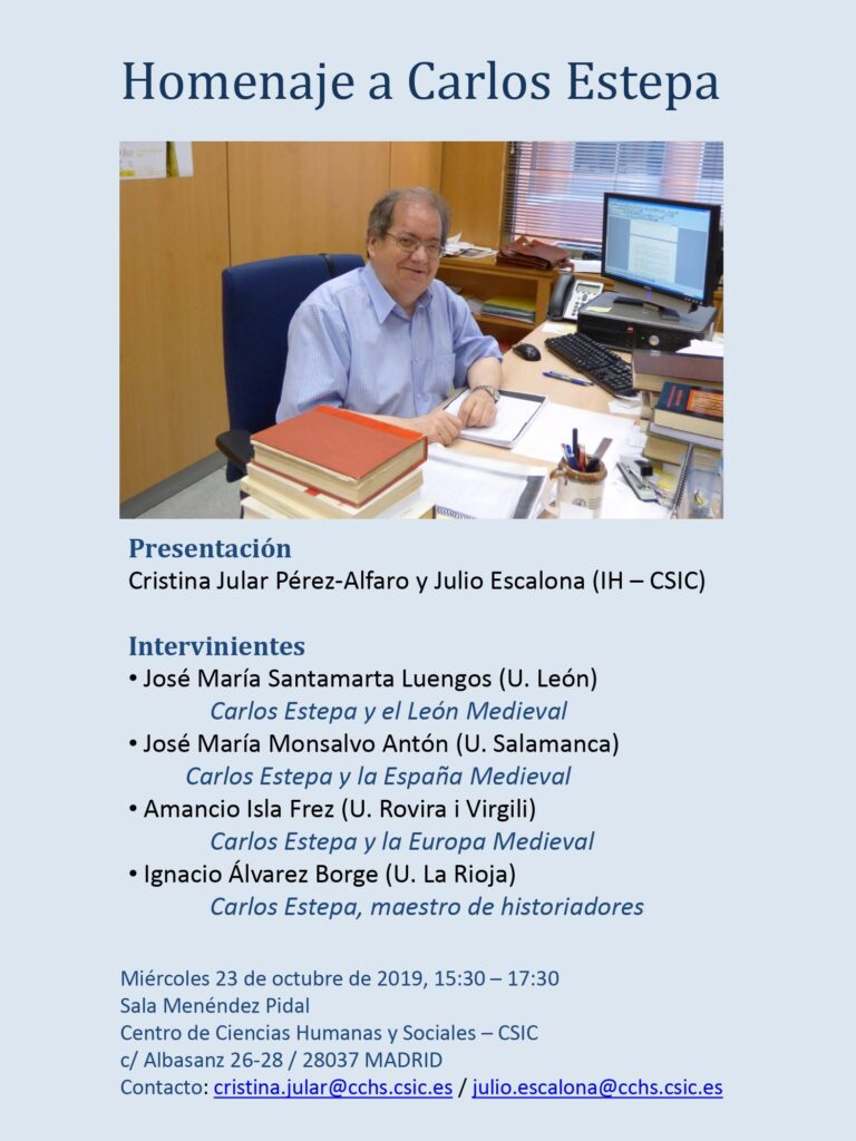 Cartel de homenaje a Carlos Estepa