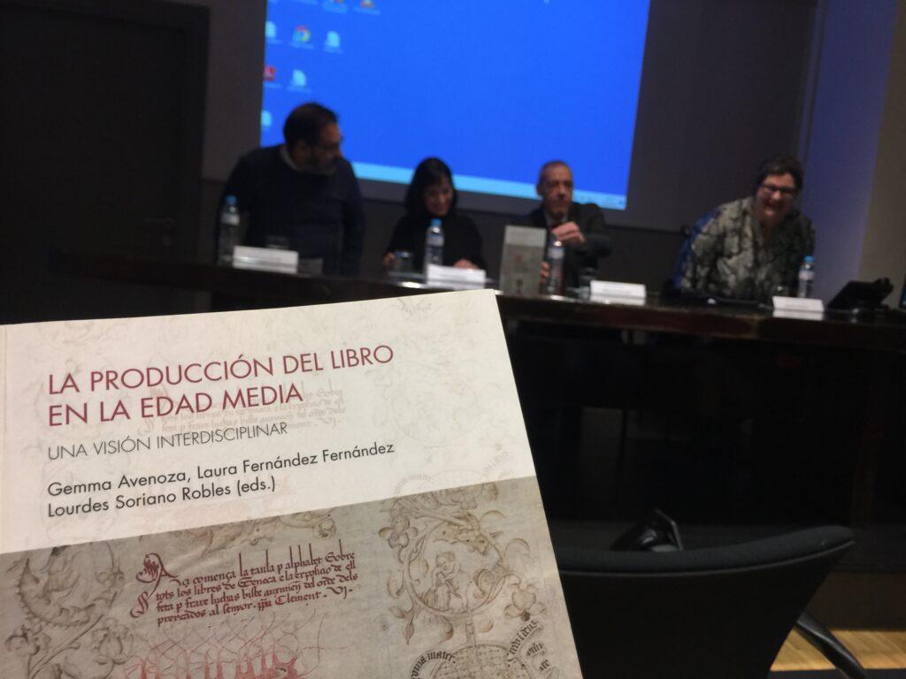 """Presentación """"La producción del libro en la Edad Media"""""""