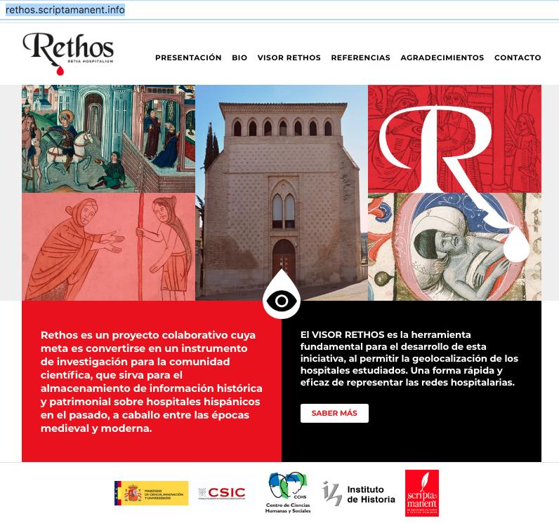 La web de Rethos