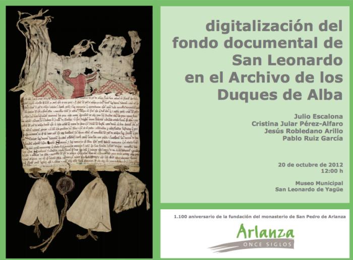 Digitalización Fondo San Leonardo